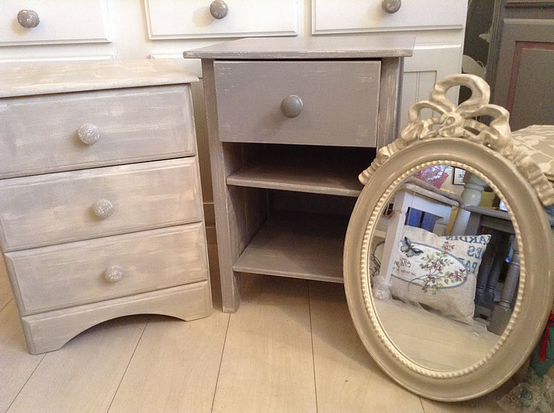 Shabby Chic Before And After Shots